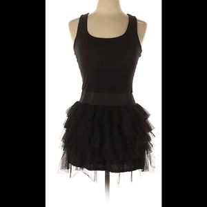 MILEY CYRUS & MAX AZRIA NWT L BLACK TANK DRESS